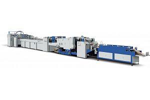 ZB 1200CS-430 SHEET FEEDING PAPER BAG MAKING MACHINE