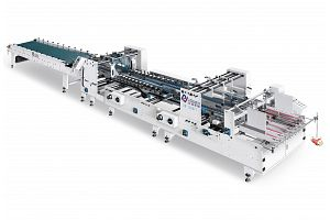 ZH-1300FT TWO FOLD TYPE FOLDER GLUER