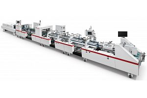 ZH-880BFST AUTOMATIC 4/6 CORNER TYPE FOLDER GLUER