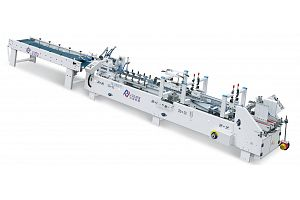 ZH-880PFT PRE-FOLDING TYPE FOLDER GLUER