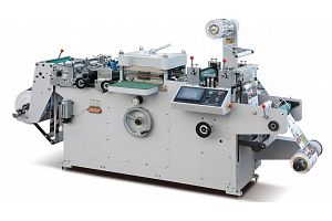 WQM-320G ADHESIVE LABEL DIE CUTTING MACHINE