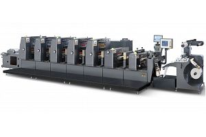 ZX-320 INTERMITTENT LABEL OFFSET PRINTING MACHINE