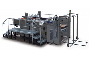 JB-1050AG FULL AUTOMATIC STOP CYLINDER SCREEN PRESS