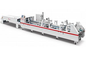 ZH-880PFT-H AUTOMATIC PRE-FOLDING TYPE FOLDER GLUER