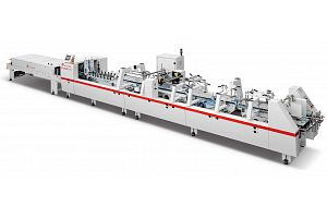 ZH-800BFT-H AUTOMATIC CRASH LOCK BOTTOM TYPE FOLDER GLUER