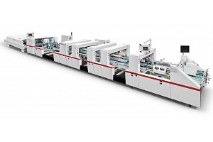 ZH-1600BFST AUTOMATIC 4/6 CORNER TYPE FOLDER GLUER