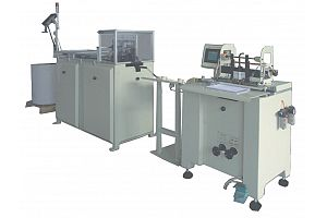 DOUBLE WIRE FORMING AND BINDING MACHINE
